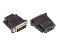 Top Angebote Adapter HDMI 19pol Buchse an DVI-D 24+1 Stecker, Good Connections