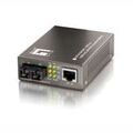 Fast Ethernet PoE-PD Media Konverter, RJ45-SC-Duplex, 100FX, MM