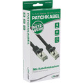 InLine Basic Patchkabel, SF/UTP, Cat.5e, schwarz, 5m