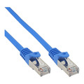 InLine Patchkabel, SF/UTP, Cat.5e, blau, 7,5m
