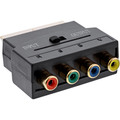 InLine Scart Adapter, Scart Stecker an 4x Cinch Buchse (RGB+Composite)