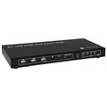 KVM Switch USB, HDMI, 4K, 4 Wege