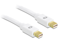 Kabel Mini Displayport 1.2 Stecker an Mini Displayport Stecker 4K 0,5m, Delock