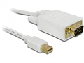 Kabel mini Displayport an VGA 15 pin Stecker, 1m, Delock
