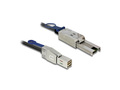 Mini SAS Kabel HD SFF-8644 an Mini SAS SFF-8088, 2m, Delock