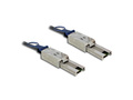 Mini SAS Kabel SFF-8088 an Mini SAS SFF-8088, 2m, Delock