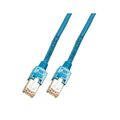 Patchkabel RJ45, F/UTP, Cat.5e, TM11, UC300, 1,5m, blau