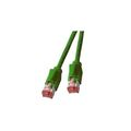 Patchkabel RJ45, S/FTP, Cat.6A, TM21, UC900, 0,5m, grün