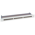 Patchpanel 24xRJ45 1HE Cat.6A, RAL9005 schwarz