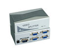 VGA Video Splitter 4-Port Videobandbreite 350MHz