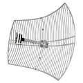 Wireless LAN Antenne Grid Parabolic 24 dBi, Outdoor, Logilink