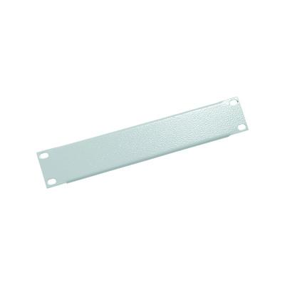 10 Blindplatte, Triton RAC-ZP-X01-C1, 1HE, lichtgrau
