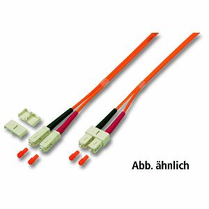 Patchkabel LWL Duplex OM1 (Multimode, 62,5/125) SC/SC, 0,5m, Good Connections