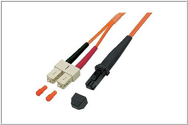 Patchkabel LWL Duplex OM1 (Multimode, 62,5/125) MT-RJ/SC, 2m, Good Connections