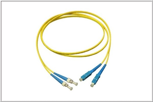 Patchkabel LWL Duplex OS2 (Singlemode, 9/125) ST/SC, 15m, Good Connections