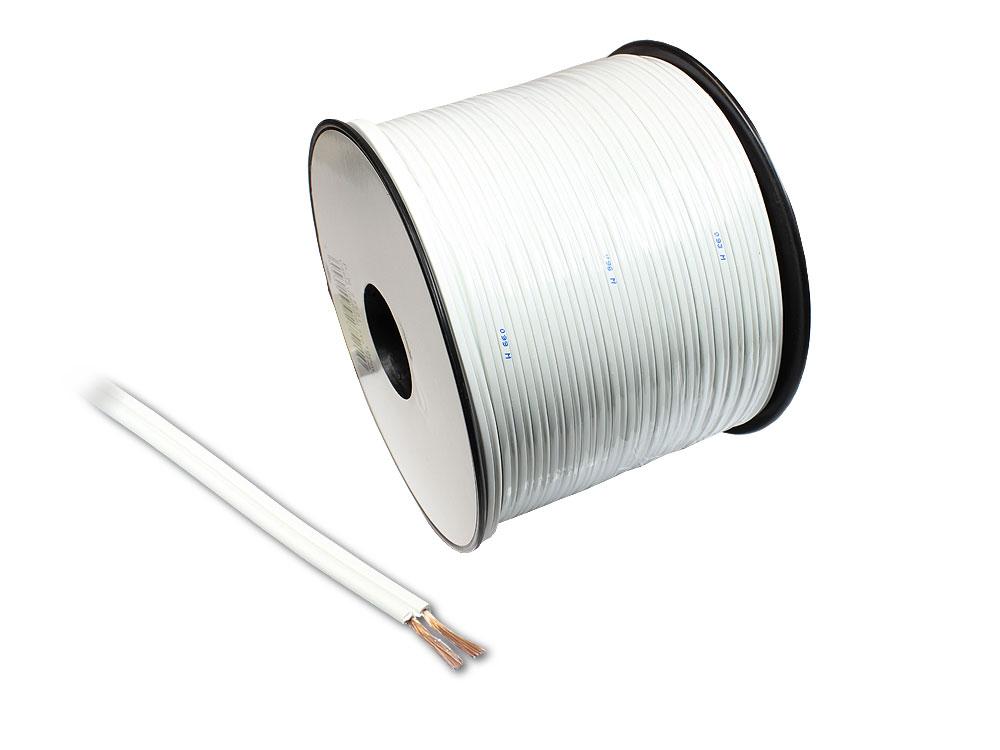 Lautsprecherkabel Basic, 2x 0,75mm², Innenleiter CCA.