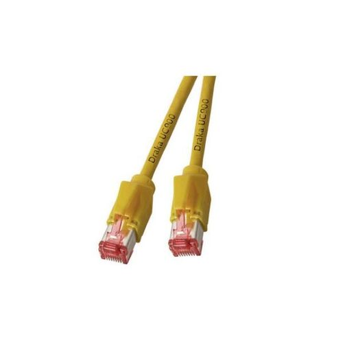 Patchkabel RJ45, S/FTP, Cat.6A, TM21, UC900, 50m, gelb