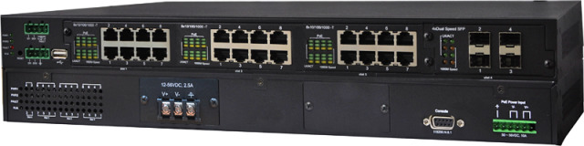 Produktbild 2 () - Lantech Unmanaged Switches mit PoE Fast Ethernet Unmanaged mit PoE