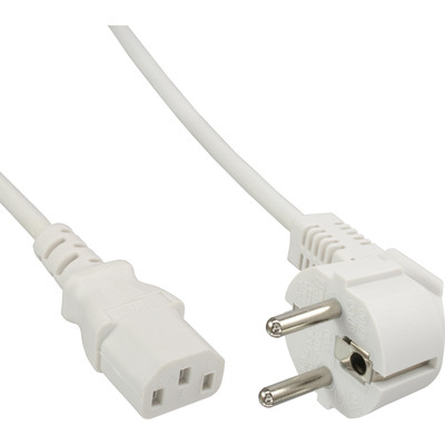 3m Schutzkontakt gerade auf Kaltgerätestecker IEC320//C19 InLine® Netzkabel 16A