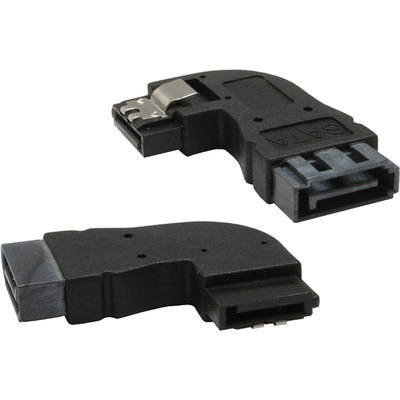 InLine SATA Adapter Stecker / Buchse, gewinkelt links