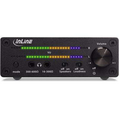 1x IN InLine® Mobiler Stereo Kopfhörer-Verstärker 3,5mm Klinke mit Bass-Boost