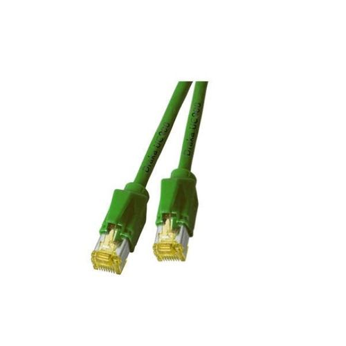 Patchkabel RJ45, S/FTP, Cat.6A, TM31, UC900, 0,5m, grün