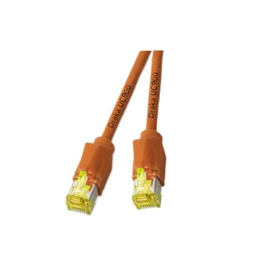 Patchkabel RJ45, S/FTP, Cat.6A, TM31, UC900, 0,5m, orange