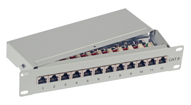 Patchpanel 12port 10