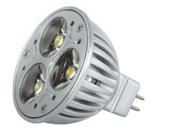 Power-LED, 3,5W, 12V, 120 lm, 4000K, (warmweiß), dimmbar, A, 45&#176 Abstrahlwinkel