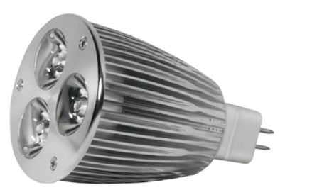Power-LED, 6W, 12V, 180 lm, 4000K, (warmweiß), dimmbar, A, 15&#176 Abstrahlwinkel