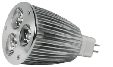 Power-LED, 6W, 12V, 200 lm, 4000K, (warmweiß), dimmbar, A, 45&#176 Abstrahlwinkel
