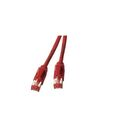 Patchkabel RJ45, S/FTP, Cat.6A, TM21, UC900, 15m, rot