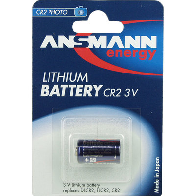 Ansmann Lithium Photobatterie 3V CR2, 1er Blister (5020022)