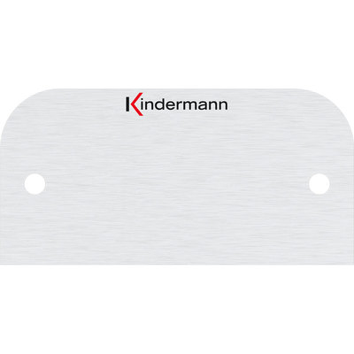 Blindblende KINDERMANN 7441000400, Halbblende 54x27mm