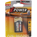Ansmann Alkaline X-Power Batterie, 9-V-Block (E), 1er Pack (5015643)